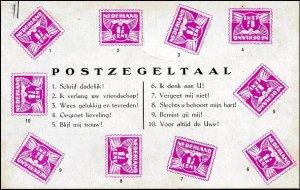 postzegeltaal